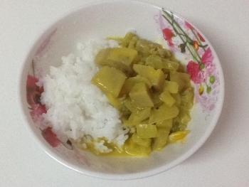 バナナカレー2
